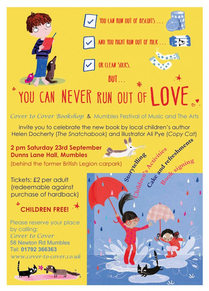 You Can Never Run Out of Love Flyer_01
